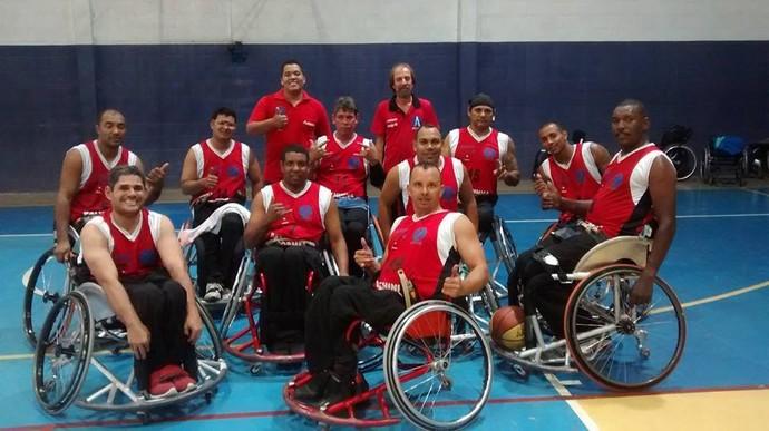Adapp Presidente Prudente basquete adaptado (Foto: Marcos Chicalé / Divulgação, Semepp)