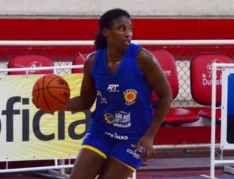 Karen Rocha São José Basquete (Foto: Danilo Sardinha/GloboEsporte.com)