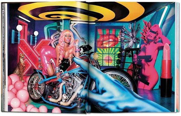 Lady Gaga e o colorido exacerbado, marca do trabalho do autor (Foto: Divulgação)