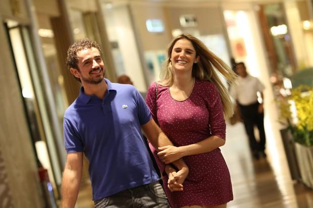 Felipe Andreoli e Rafa Brites (Foto: Fabio Moreno/Agnews)