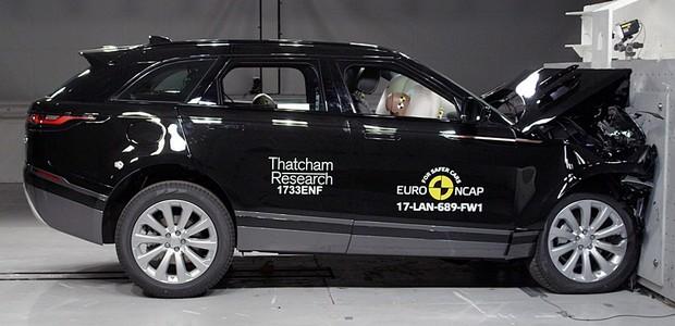 Crash Test Range Rover Velar (Foto: Euro NCAP)