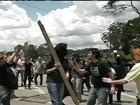 Protesto em SP contra pesquisas com animais termina com três feridos