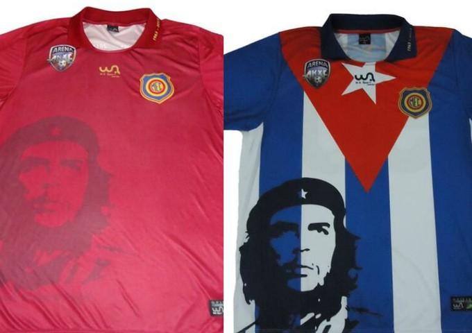 Uniforme do Madureira, che guevara cuba - futebol 7 (Foto: Divulgação)