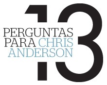 13 perguntas para Chris Anderson (Foto: reprodução)