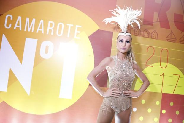 Sabrina Sato chegando no Camarote (Foto: Divulgação/CamaroteN1)