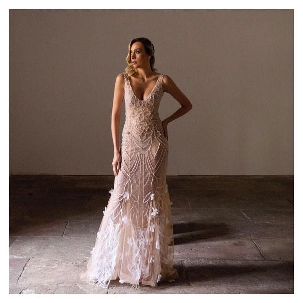 Vestido da nova coleção de Carol Hungria (Foto: Divulgação)
