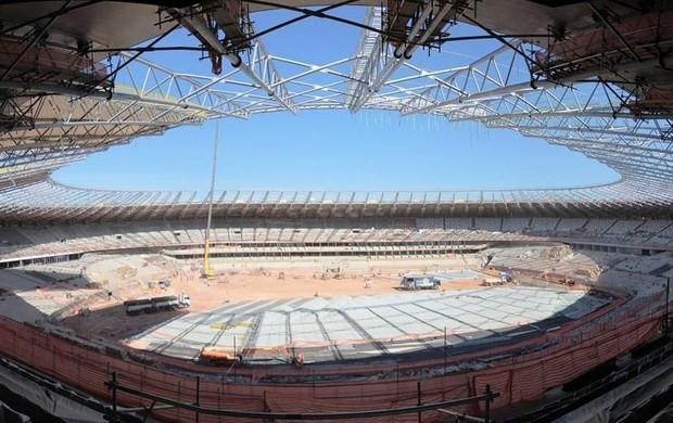 Obras Estádio Mineirão copa do mundo 2014 (Foto: Arena)