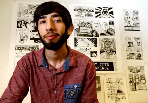 O texano Gonzalo Álvarez desenvolveu um videogame que simula a entrada de imigrantes pela fronteira dos EUA (Foto: Reprodução/Facebook)