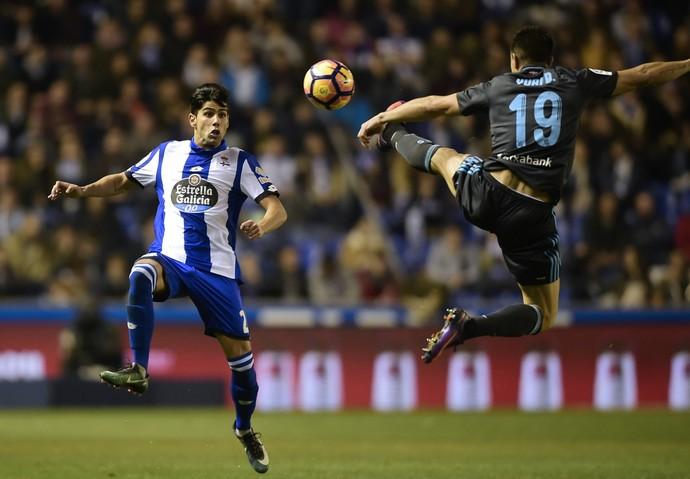 Juanfran Moreno Deportivo La Coruña (Foto: AFP)