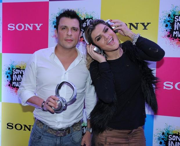 Ceará e Mirella Santos (Foto: Francisco Cepeda / AgNews)