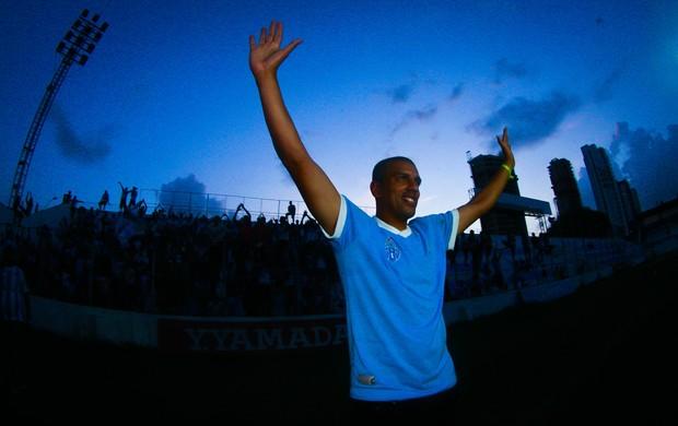 Lecheva entrou para história do Paysandu (Foto: Tarso Sarraf / O Liberal)