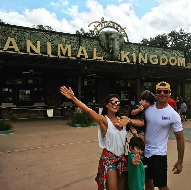 Juliana Paes curte férias com a família (Foto: Reprodução / Instagram)