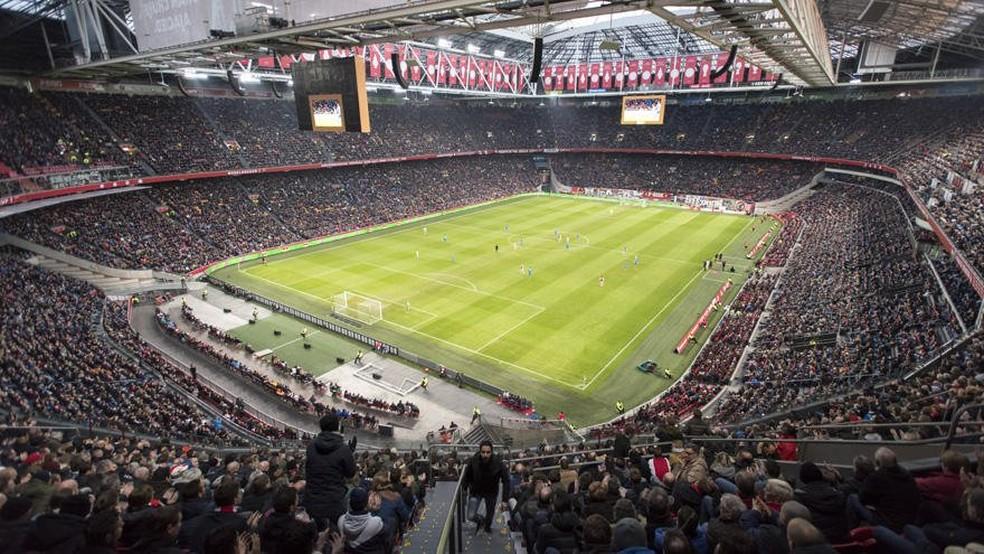 Amsterdã Arena ganhará o nome de Cruyff (Foto: Reprodução / Twitter)