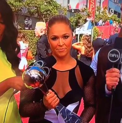 Ronda Rousey Premiação ESPY