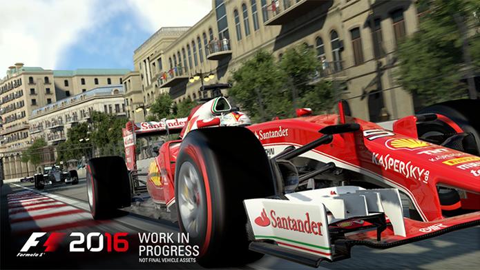 F1 2016 terá versões para PlayStation 4, Xbox One e PCs com todos os carros e pistas da temporada 2016 (Foto: Divulgação/Codemasters)
