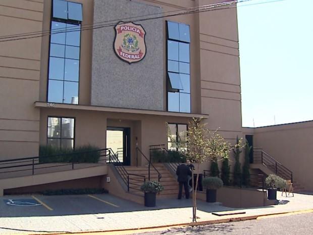 Sede da Polícia Federal em Ribeirão Preto, SP (Foto: Reprodução/EPTV)