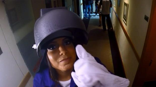Caldeirão do Huck: Anitta participa de pegadinha (Divulgação)