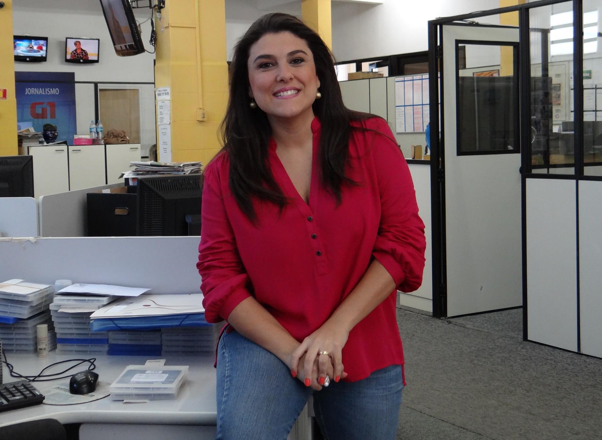apresentadora Janaina Hohne (Foto: Eder Pin)