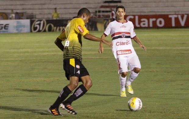 Fernando diz que merece nota 5 (Foto: Rogério Moroti / Assessoria BFC)