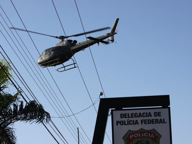 Operação  (Foto: Pâmela Fernandes/G1)