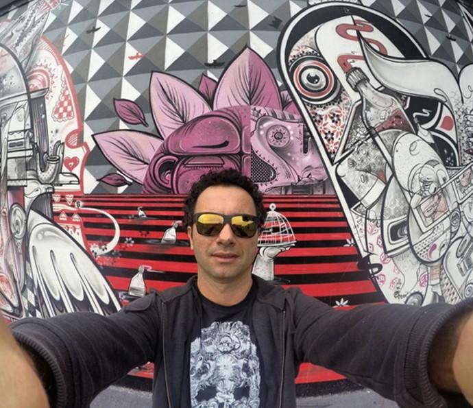 Marco Luque comenta expectativa para estrear no Altas Horas (Foto: Arquivo pessoal)