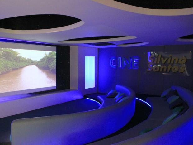 Cine Silvino Santos, espaço cinematográfico dedicado à memória do fotógrafo e cineasta luso-brasileiro Silvino Simões Santos Silva (Foto: Tiago Melo/G1 AM)