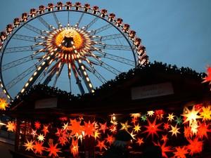 Mercado de Rotes Rathaus em berlim (Foto: Johannes Eisele/AFP Photo)