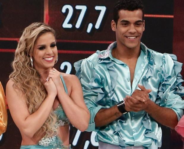 Marcello Melo Jr. comemora o primeiro lugar no ranking (Foto: Inácio Moraes / TV Globo)