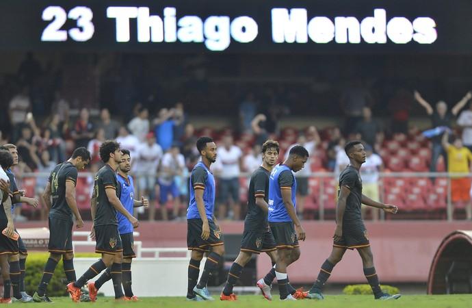 São Paulo x Figueirense gol Thiago Mendes (Foto: Mauro Horita)