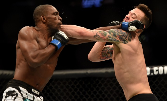 James Krause x Valmir Lazaro ufc 184 (Foto: Getty Images)