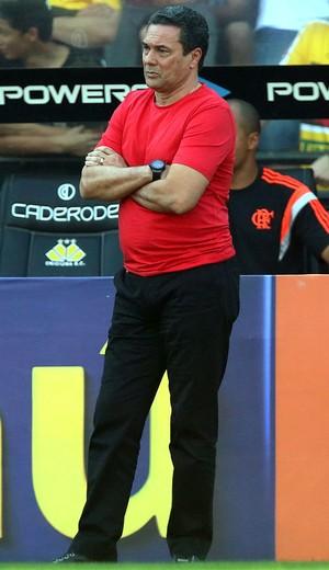 Vanderlei Luxemburgo no jogo Ciricúma x Flamengo (Foto: Getty Images)