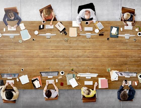 Mesa de trabalho (Foto: Tink Stock)