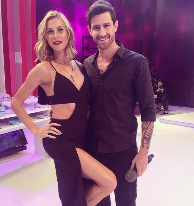 Renata Kuerte com Leandro D'lucca, o novo affair de Cleo Pires (Foto: Reprodução/Instagram)