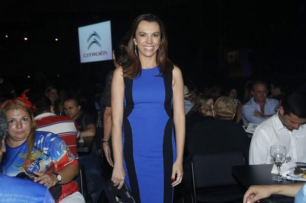 Ana Paula Araújo no prêmio Estandarte do Ouro no Rio (Foto: Roberto Filho/ Ag. News)