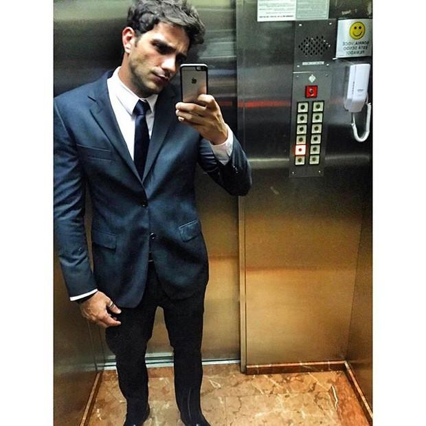 Junior Gianetti vai ao casamento de Franciele e Diego (Foto: Reprodução/Instagram)