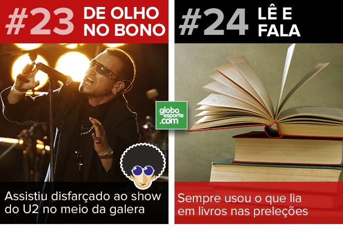 Cartela Curiosidades Ceni 15 (Foto: GloboEsporte.com)