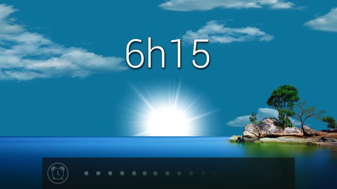 Despertador: Glimmer simula nascer do sol com a luz do celular (Foto: Divulgação/Glimmer)