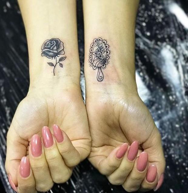 Novas tatuagens de Antônia Fontenelle (Foto: Reprodução/Instagram)