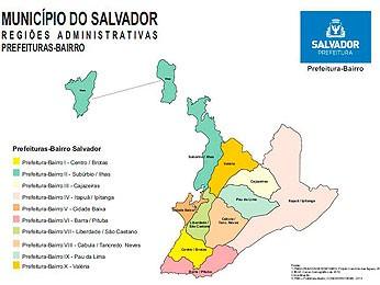 Prefeitura-Bairro em Salvador (Foto: Divulgação/ Prefeitura)