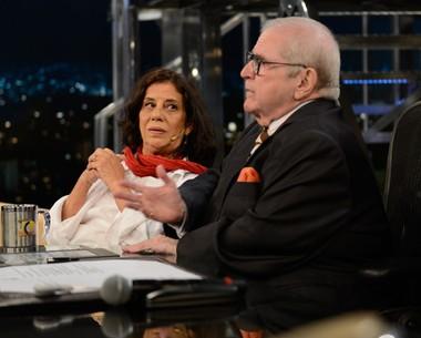 Maria Gladys comenta como foi fazer uma cena de sexo em filme (TV Globo/Programa do Jô)