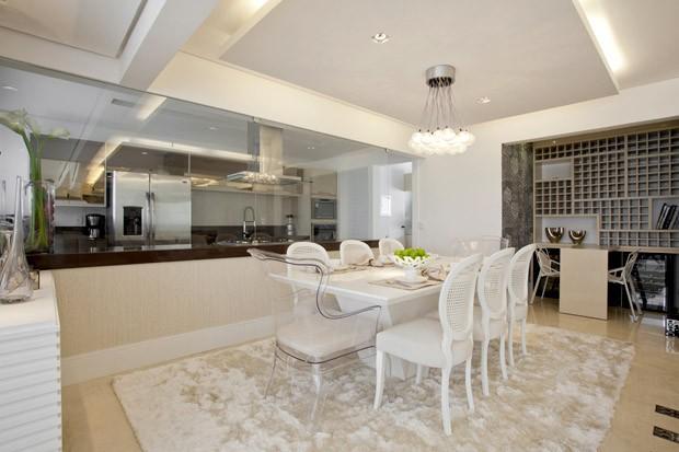 Tamanho De Tapete Sala De Jantar ~ Arquitetura e Decoração  Decoração de Sala de Jantar