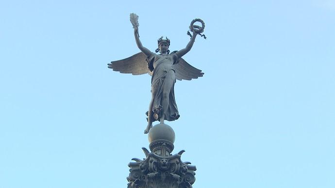 81d36ea15 Arquiteto Chico Senna conta a história de estátua em homenagem a heróis  (Foto  TV