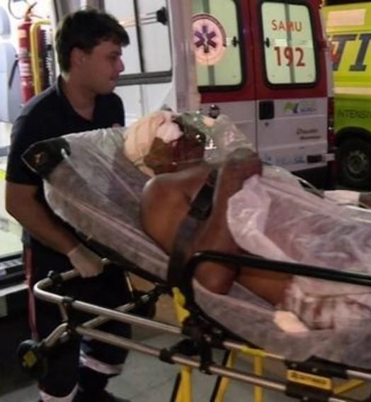 vítimas da violência (TV Globo)