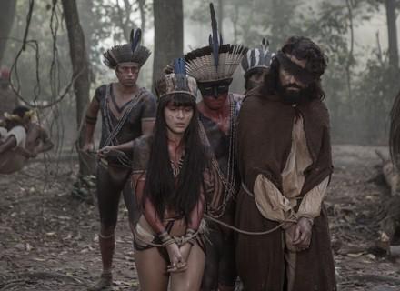 Jacira e Ferdinando são feitos reféns por Ubirajara