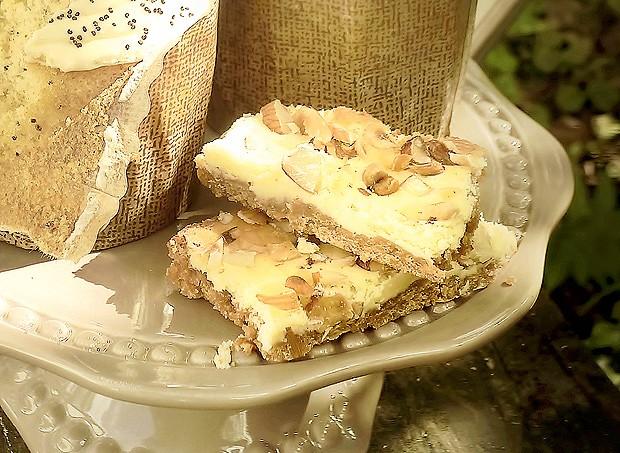 Barrinhas de cheesecake de limão siciliano (Foto: Rogério Voltan/Casa e Comida)