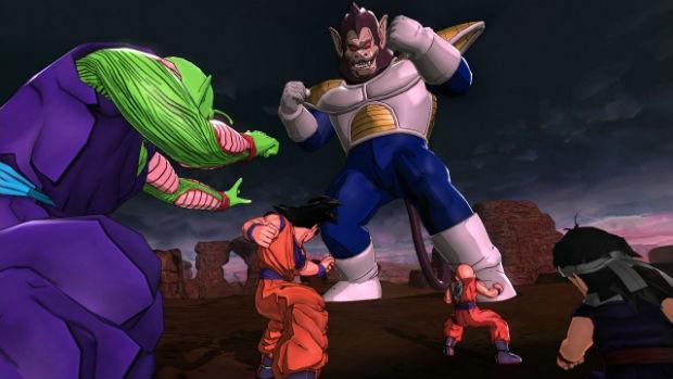 Game 'Dragon Ball Z: Battle of Z' permite que jogadores criem equipes com heróis e vilões da série (Foto: Divulgação/Namco Bandai)