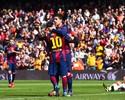 """Golaço de Messi em show do Barça disputa enquete de """"pintura"""" europeia"""