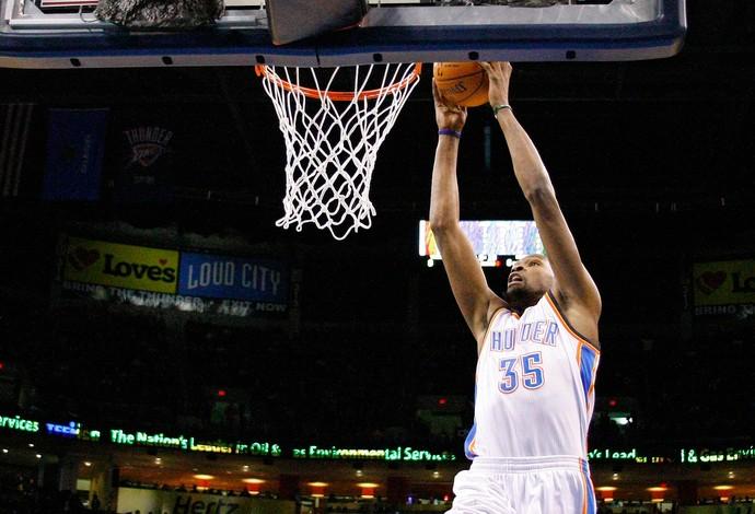 Kevin Durant Oklahoma City Thunder x Golden State Warriors (Foto: AP)