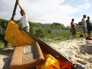 helicóptero trancoso (Foto: Joá Souza/Agência A Tarde/AE)
