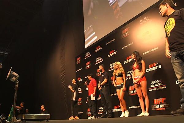 Pesagem oficial do UFC  em Uberlândia será nesta sexta-feira (7) (Foto: Divulgação )